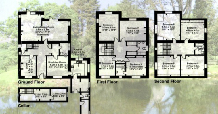 Floor Plans Plas Meini Estate